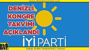 Denizli İYİ Parti'de ilçe ve il kongre tarihleri belli oldu.