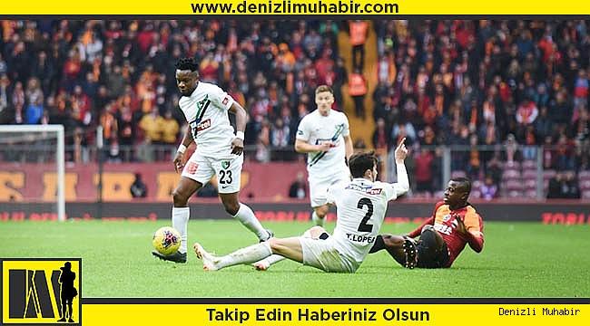 Galatasaray: 1 - Yukatel Denizlispor: 0