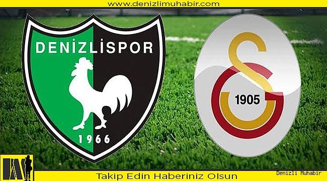 Galatasaray ileDenizlispor 40. maça çıkıyor