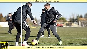 Horoz, Antalya maçı hazırlıklarını tamamladı