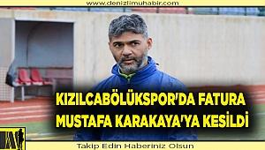 Kızılcabölükspor'da fatura Mustafa Karakaya'ya kesildi