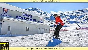 Turizmcilerin yeni gözdesi Denizli Kayak Merkezi