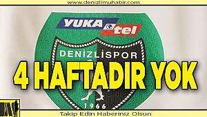 YukatelDenizlispor, 4 haftadır kazanamıyor