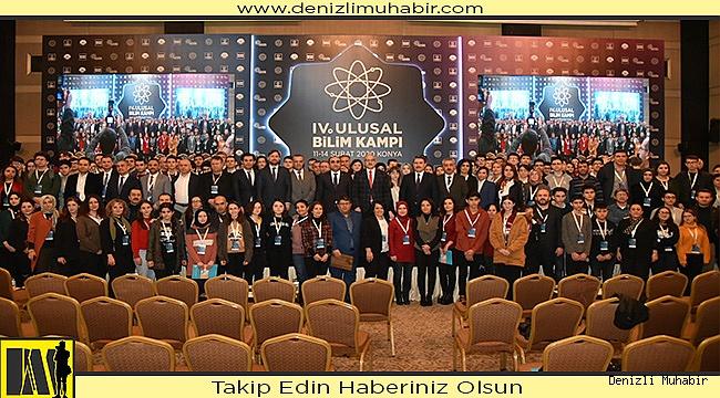 4. Ulusal Bilim Kampı Konya'da Gerçekleştirildi