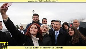Cumhurbaşkanı Yardımcısı Fuat Oktay,Denizli'de esnafı ziyaret etti