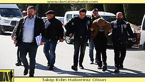 Denizli'de engelli kişinin çantasını gasbeden zanlı tutuklandı
