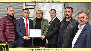 Dto Başkanı Uğur Erdoğan Çivril'de Esnafları Gezdi
