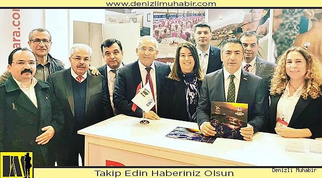 EMITT 2020 TURİZM FUARI'NDA, DENİZLİ'YE İLGİ BÜYÜKTÜ