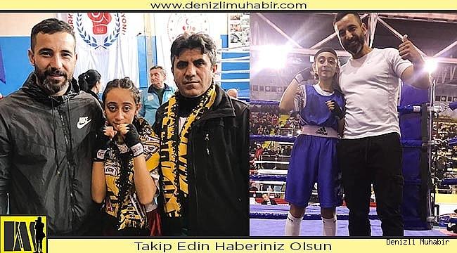Genç Boksör Denizli'ye Türkiye 2.'liği getirdi