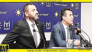 İyi Parti Pamukkale İlçe Başkanı adayını belirledi