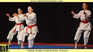 Karatecilerin gurur günü şölen havasında geçti