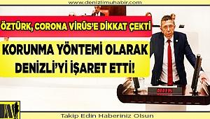 KORUNMA YÖNTEMİ OLARAK DENİZLİ'Yİ İŞARET ETTİ!