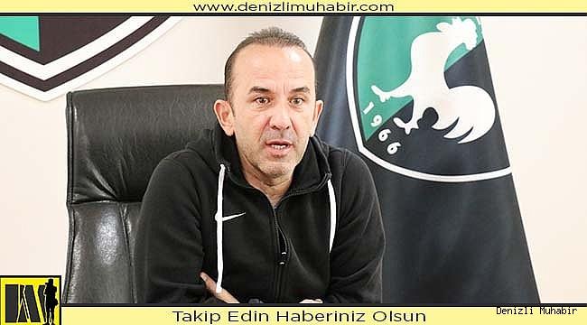 """Özdilek: """"Kayserispor maçını kazanırsak önümüz açık"""""""