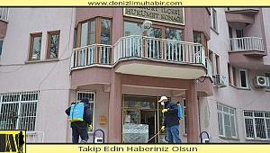 Bozkurt Belediyesi'ne korona ilaçlaması