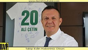 Denizlispor Kulübü Başkanı Ali Çetin'den koronavirüs açıklaması