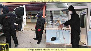 DESKİ'nin tüm araç-gereçleri dezenfekte edildi