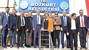 Ege ve Marmara Çevre Belediyeler Birliği Bozkurt'ta toplandı