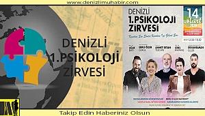 PSİKOLOJİ ZİRVESİ ŞİMDİ DENİZLİ'DE!
