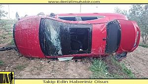 Şarampole devrilen otomobildeki 2 genç öldü