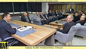 TETSİAD Yönetimi, DTO Başkanı Erdoğan'ı Ziyaret Etti