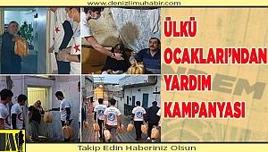 ÜLKÜ OCAKLARI'NDAN YARDIM KAMPANYASI