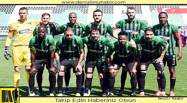 Yukatel Denizlispor: 1 - Gençlerbirliği: 0