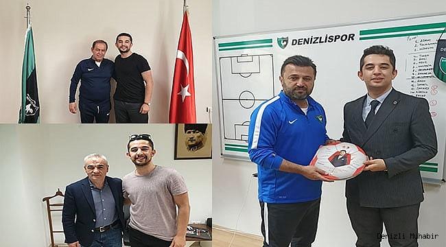 Futbol aşığı edebiyatçıdan teknik direktörlerle röportaj