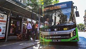 Otobüsler onlara da ücretsiz