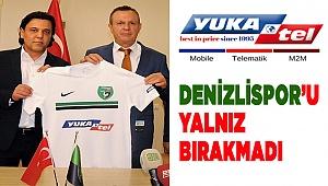 Yukatel, ana sponsoru olduğu Yukatel Denizlispor'a desteğini sürdürüyor.