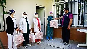 19 ilçede hizmet veren 500 ASM hemşiresine koruyucu set