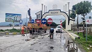 Buldan'ın Meyere girişi, trafiğe açılıyor