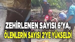 Denizli'de su kuyusunda zehirlenen 6 kişiden 2'si öldü