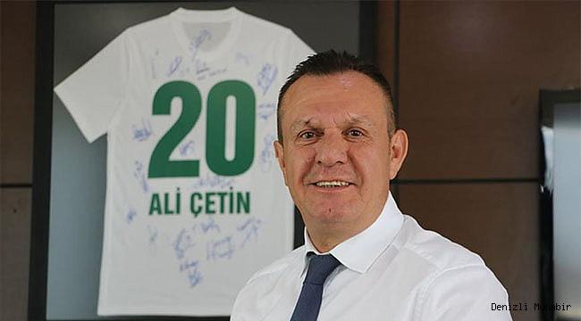 Denizlispor Kulübü Başkanı Ali Çetin'den yerli oyuncu açıklaması:
