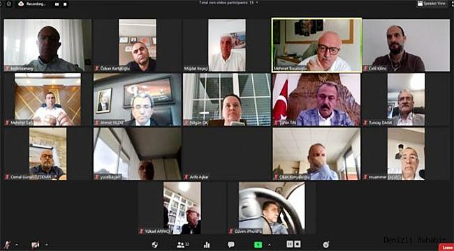 DSO Mayıs ayı meclis toplantısını videokonferans yöntemiyle yaptı