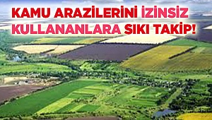 Kamu arazileri çiftçilere kiraya veriliyor