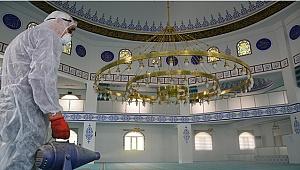 Sarayköy'de camilerde temizlik seferberliği
