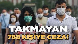 768 kişiye 295 bin 176lira para cezası kesildi