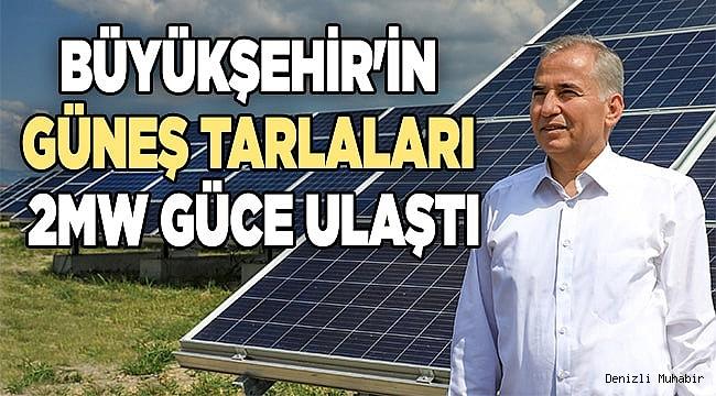 Akköy GES ile yılda 4 milyon kwh enerji
