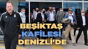 Beşiktaş kafilesi Denizli'de