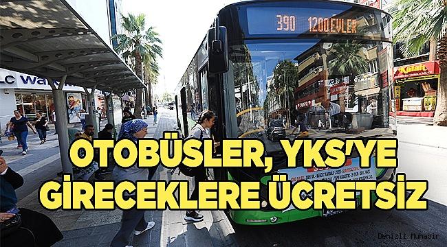 Büyükşehir otobüsleri YKS'ye gireceklere ücretsiz