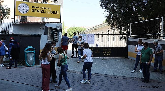 Denizli'de, Cumartesi-Pazar 47 bin öğrenci sınava girecek