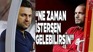 Denizlispor Teknik Direktörü Bülent Uygun'dan Sneijder açıklaması
