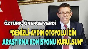 İYİ Parti Denizli Milletvekili Yasin Öztürk, önerge verdi