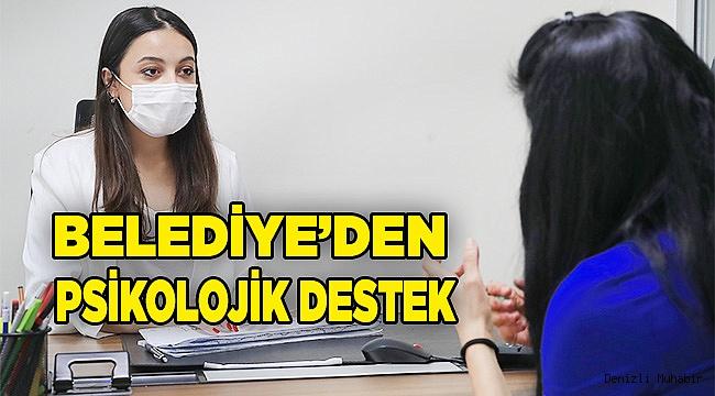 PAMUKKALE BELEDİYESİ'NDEN PSİKOLOJİK DESTEK