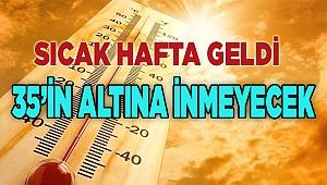 SICAK HAFTA GELDİ