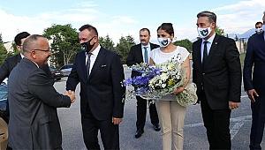 Vali Atik'ten ilk ziyaret, YukatelDenizlispor'a