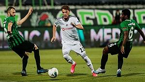 Yukatel Denizlispor: 0 - Beşiktaş: 1 (İlk yarı)