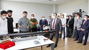 Bakan Yardımcısı PAÜ ve Pamukkale Teknokent'i Ziyaret Etti
