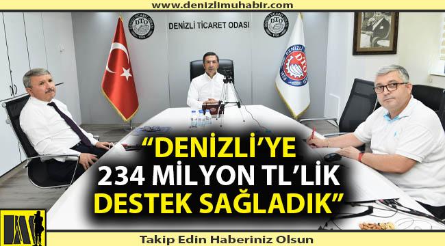 BAŞKAN ERDOĞAN DTO MECLİS TOPLANTISI'NDA AÇIKLADI