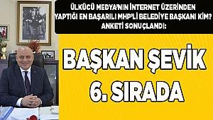 BAŞKAN ŞEVİK, 6. SIRADA